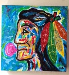 Blackhawks-Pop Art