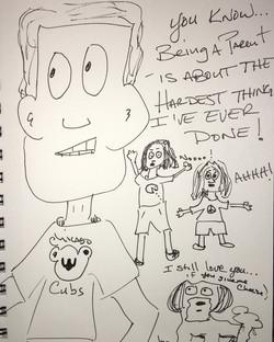 Jeremy Reed's - Aging Class Clown -