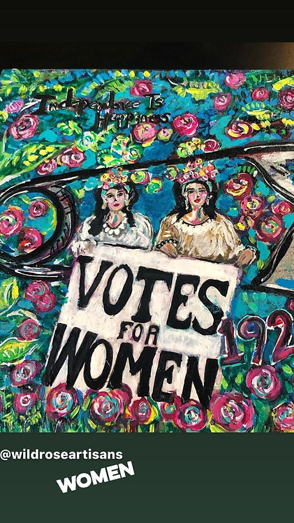 Votes for Women Painting