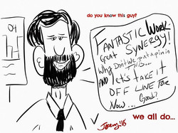 #conference #call #guy #fantastic #syner