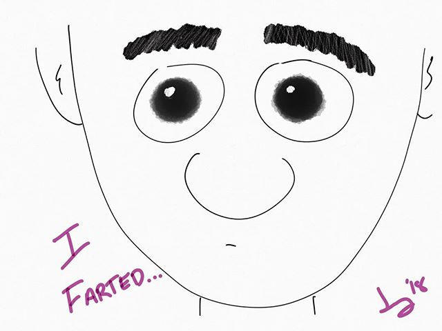 #farted #cartoon #art #oops #messingarou