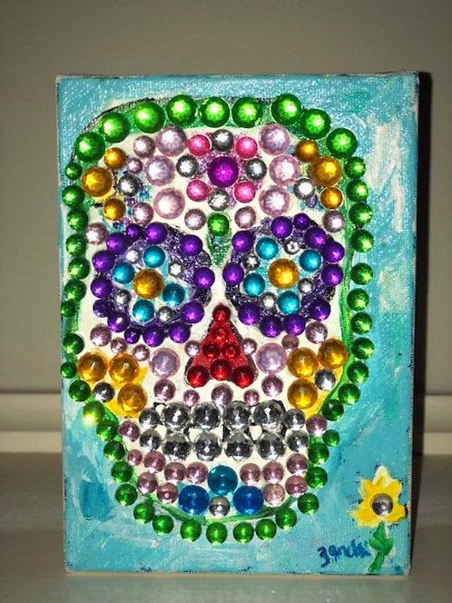 Sugar Skull- Bling