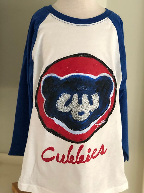 Cubbies - kids baseball shirt