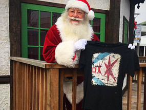 Ho-Ho-Ho Santa Clause loves our shirts!!