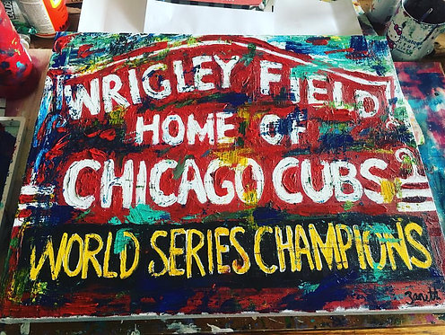Wrigley Field - World Series Champions