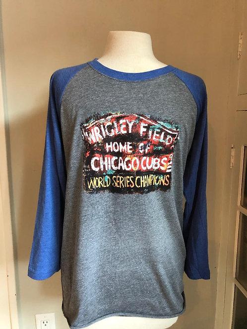 Baseball Cubs Wrigley Field Shirt - Unisex