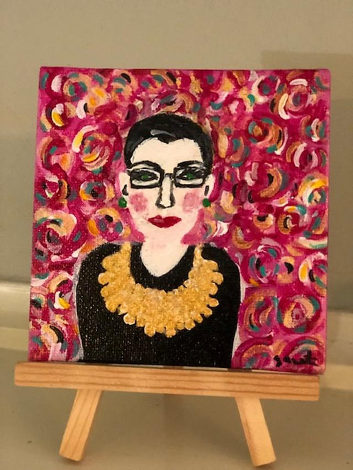 Mini RBG with Pink Flowers
