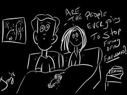 #4thofjuly #fireworks #late #sleep #work