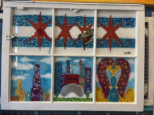 Chicago Window -Original Paintings