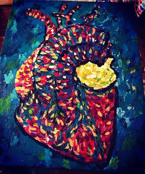 Anatomical Heart 3.0 Painting