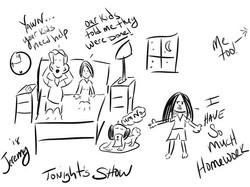 Your kids need help #night #kids #parent