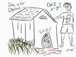 #doghouse #dad #dog #shitzu #fun #cartoo