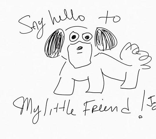 #sayhellotomylittlefriend #little #dog #