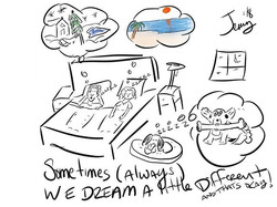 #dreams #different #thatsokay #art #cart