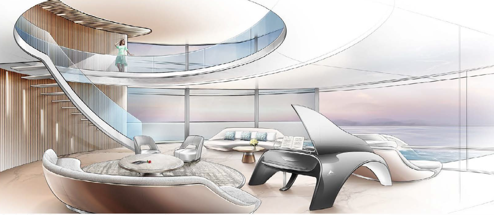 SILK ROAD YACHTS Interior Design Concept