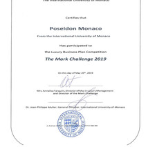 The Mark Challenge at the Monaco Yacht C