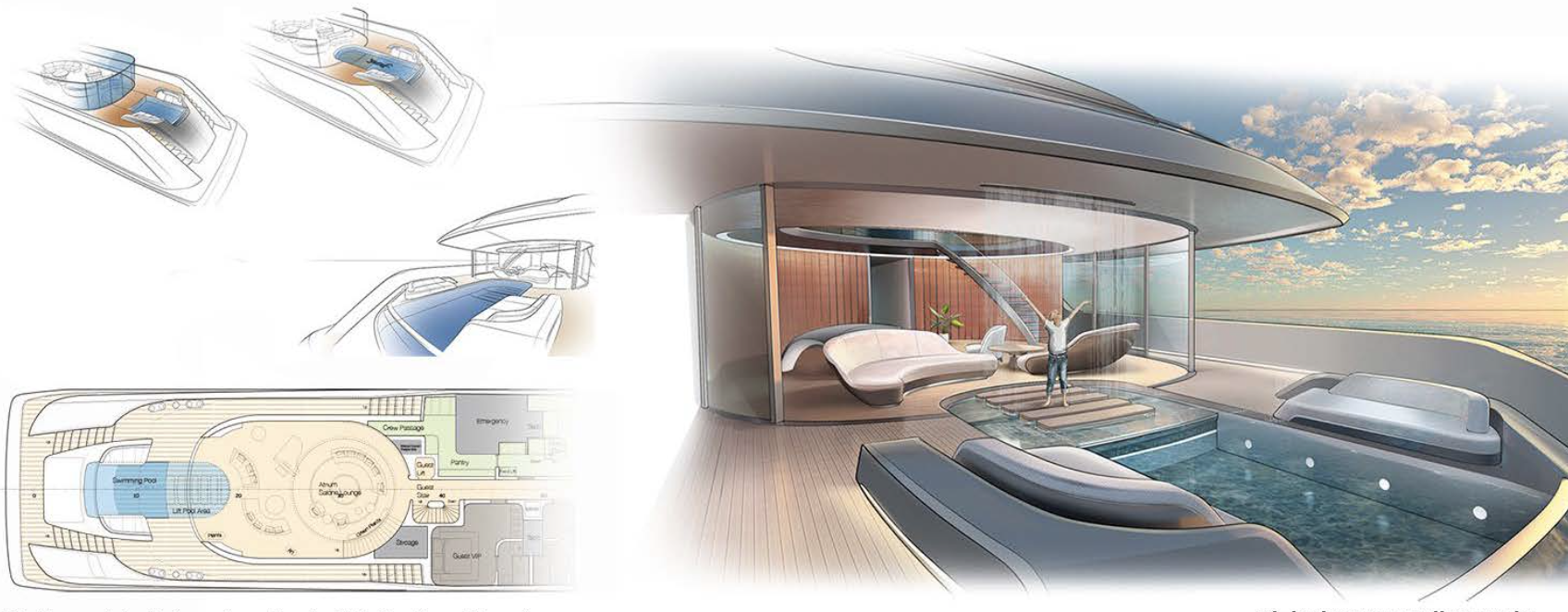 SILK ROAD YACHTS Interior Concept