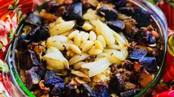 Roasted Root Veggies with Quinoa