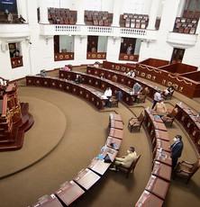 Congreso de la Ciudad de México amplía cierre parcial en sus instalaciones por semáforo rojo