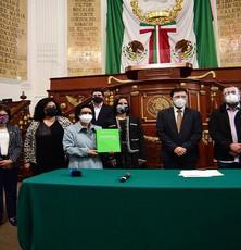 Congreso de la Ciudad de México recibe el Paquete Económico 2021 de la capital