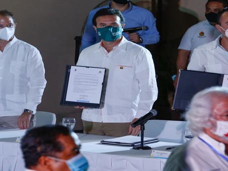 Cozumel se suma al Pacto de Reactivación Económica Responsable de Quintana Roo