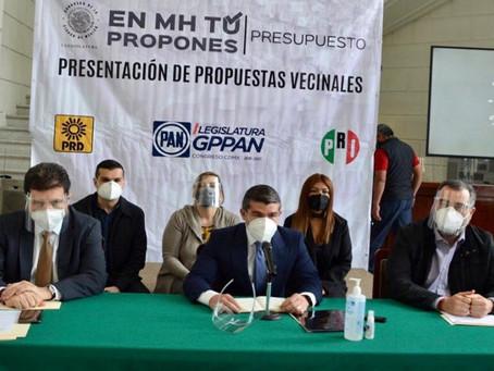 Legisladores de oposición de la capital suman esfuerzos para dar voz a vecinos de Miguel Hidalgo