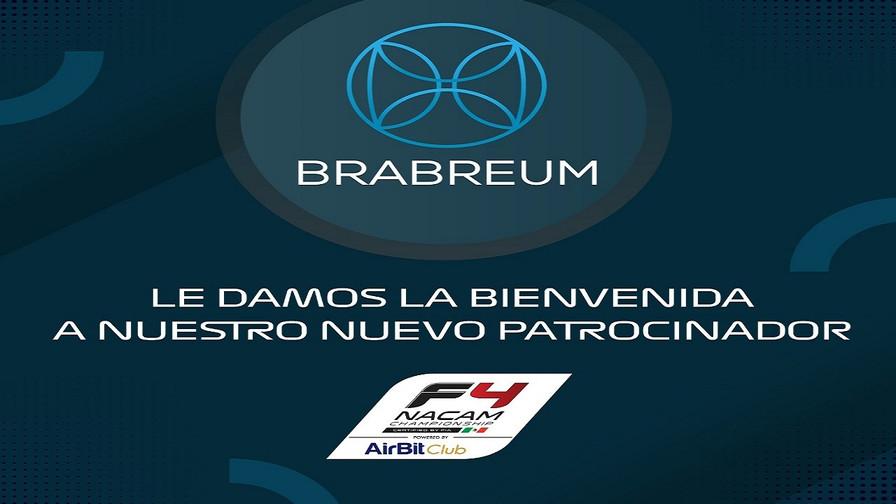 Brabreum, nuevo patrocinador FIA F4 NACAM Championship