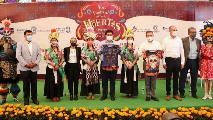 Xochimilco y Guanajuato se unen para celebrar el Día de Muertos