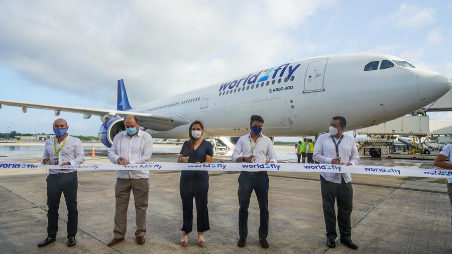 World2Fly, la nueva aerolínea aérea aterriza en Cancún