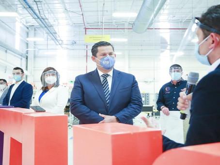 Más de 60 empresas extranjeras han llegado a Guanajuato en la actual Administración