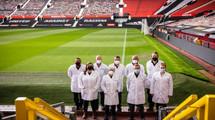 Manchester United establece un nuevo nivel de higiene y sostenibilidad con Ecolab