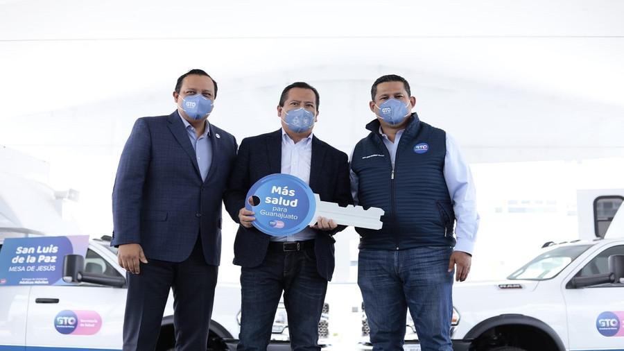Gobernador de Guanajuato impulsa atención médica, educativa y vial