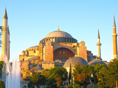 Hagia Sophia 537 – 988 – 1453 – 1934 – 2020