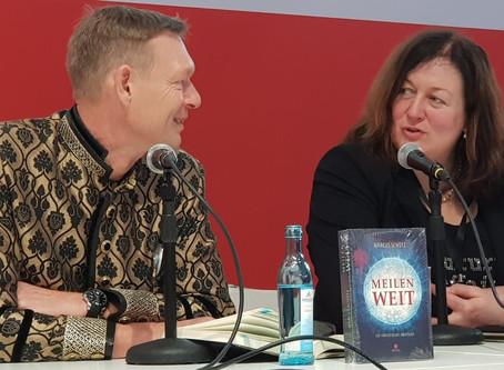 Interview vor der Buchmesse (die leider ausfiel)