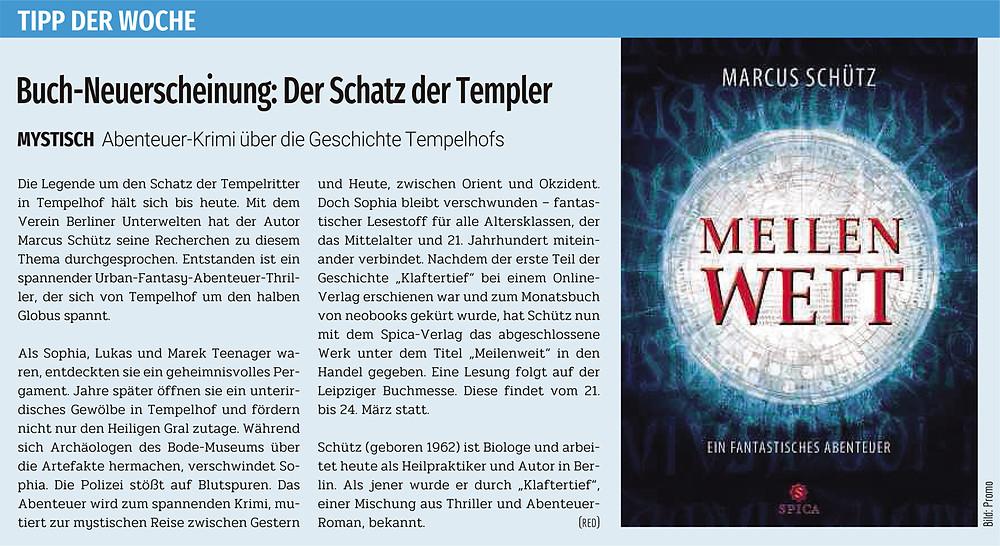 Berliner Abendblatt vom 9.3.2019