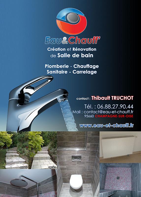 Publicité pour Eau et Chauff
