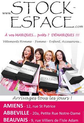 Affiche pour Stock Espace
