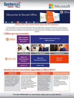 Page de catalogue pour Systemax