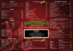 Set de table restaurant Raffaello