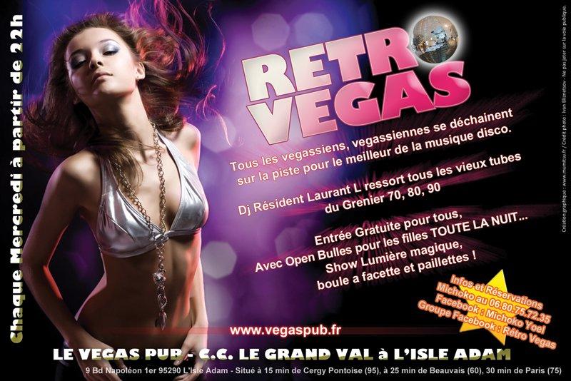 Flyer pour Vegas Pub