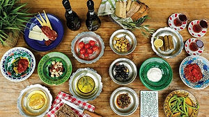 Turkse kruiden en groentes