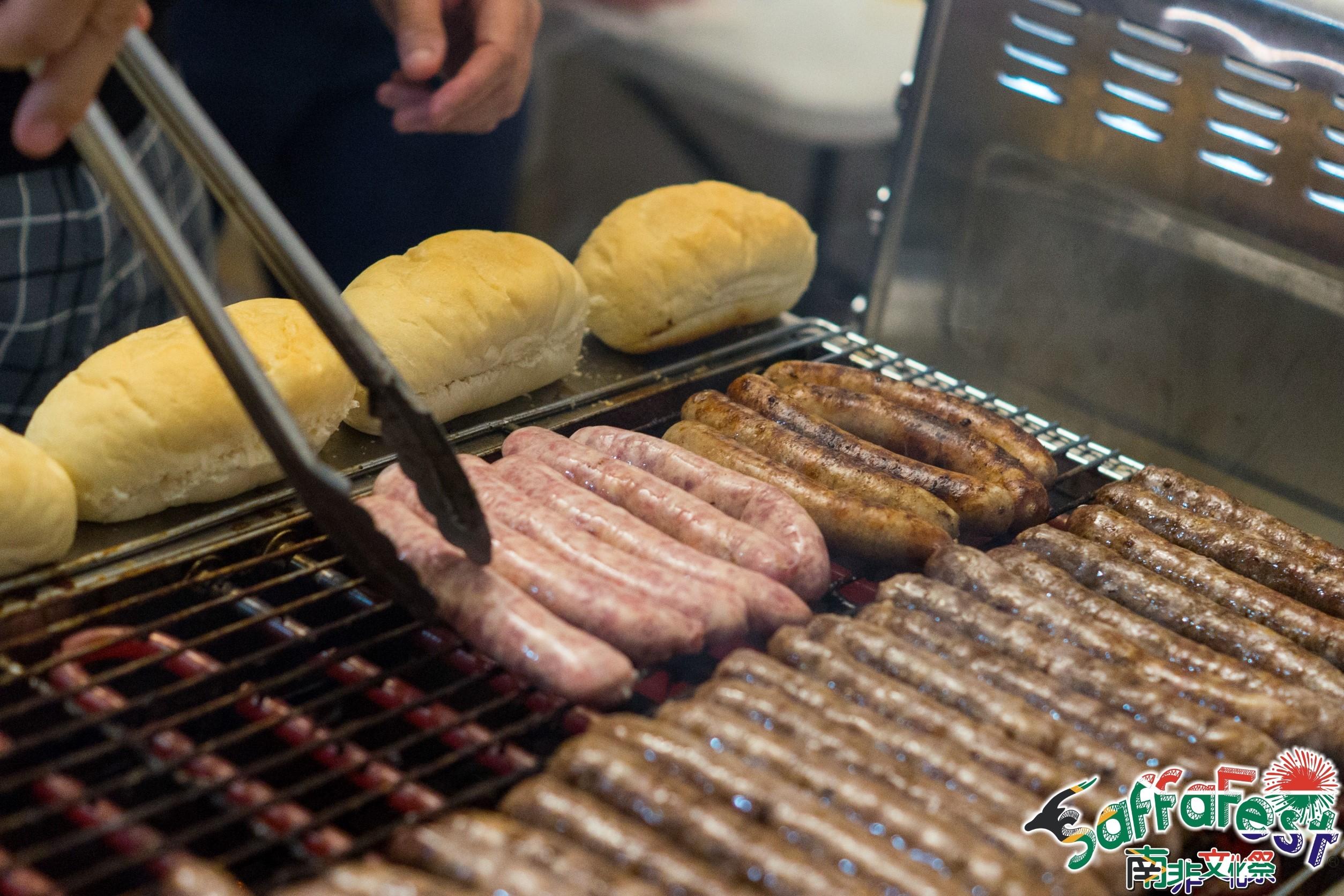 Vendors sausages