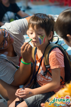Songshan face paint Mbali