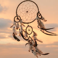 Dream Catcher on the sunset background__.jpg