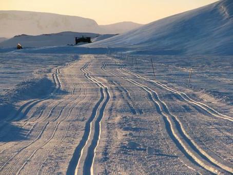 Snowkiting - Norsko