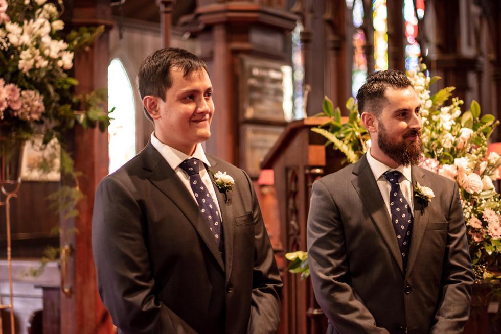 Wedding at The Anglican Parish of St Mar