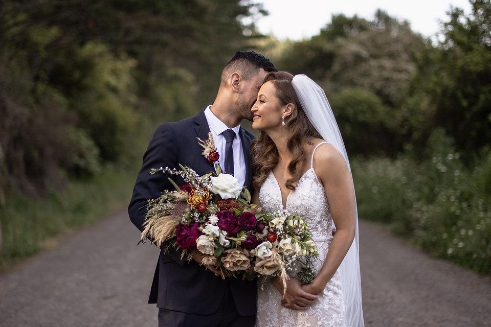 Real Maori wedding at Alley Estate in Ku