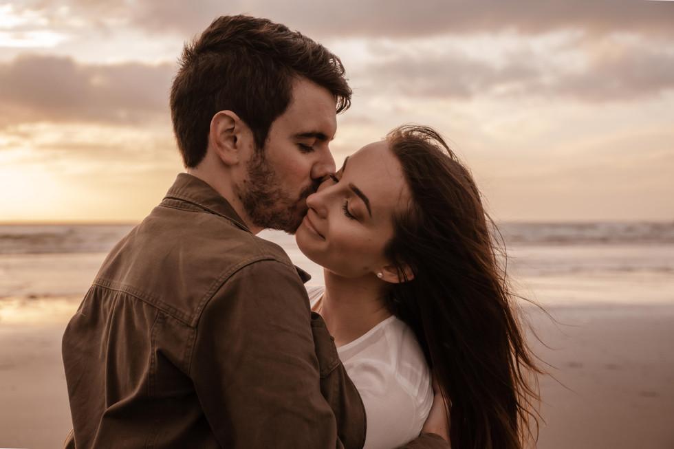 Tanya & Matt engagement shoot during a b