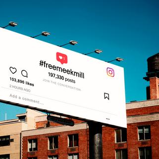 #freemeekmill x Instagram