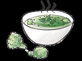 Recept: Kramhjältens gosiga broccolisoppa och bananplättar med snällsylt